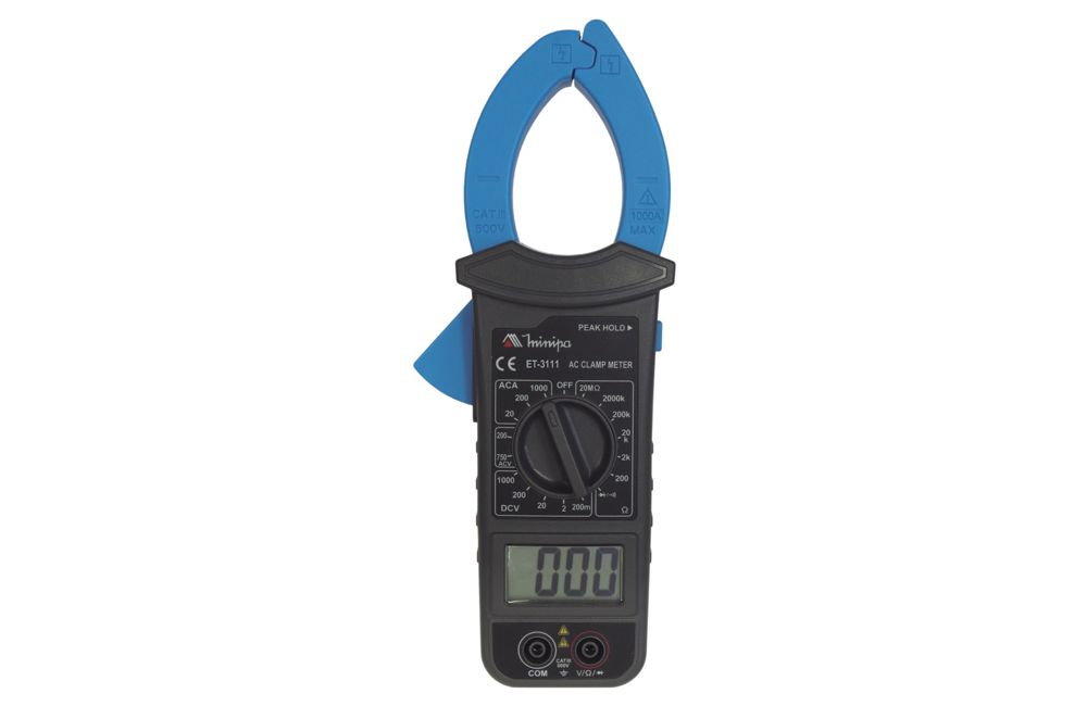 Alicate Amperímetro 1000A ET-3111 - MINIPA