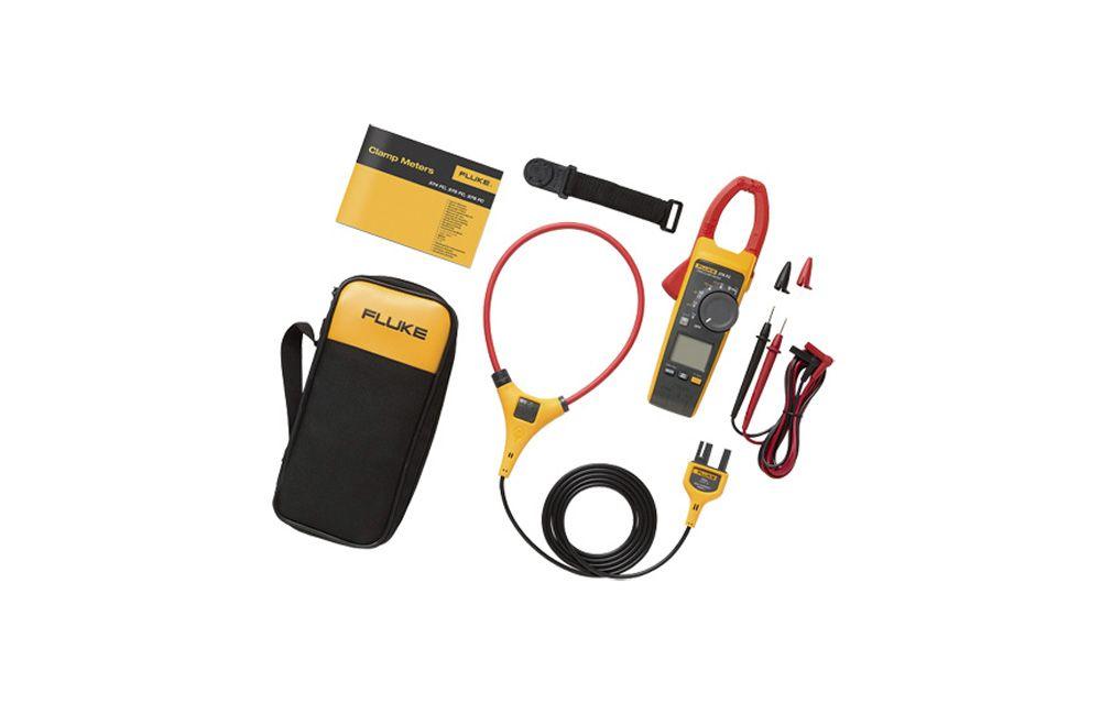 Alicate Amperímetro 1000A TRMS Iflex Conect 376FC