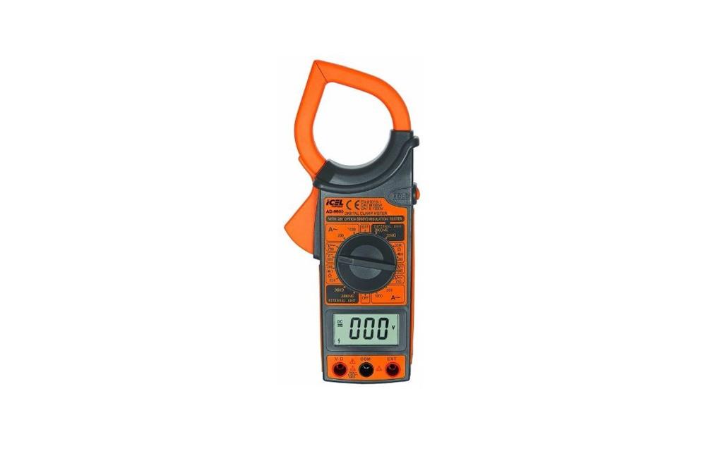 Alicate Amperímetro Digital 1000A/1000V AD-9900 - Icel