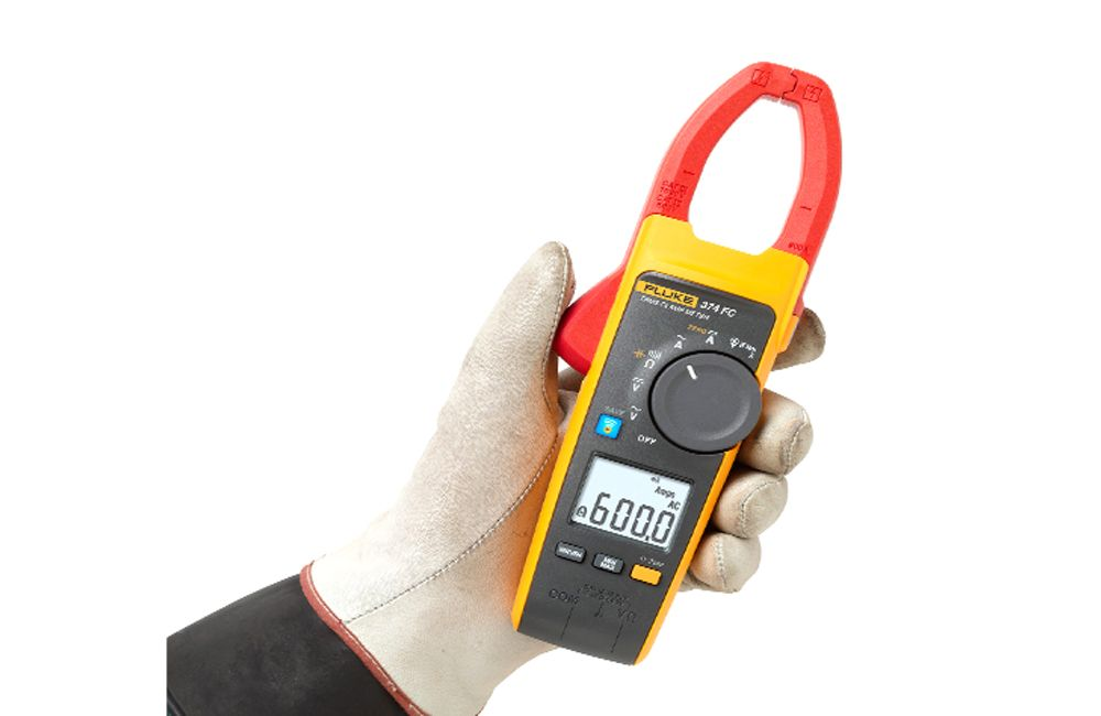 Alicate Amperímetro Digital 600A CATIV 600V CA/CC TrueRMS Bluetooth 374FC - FLUKE