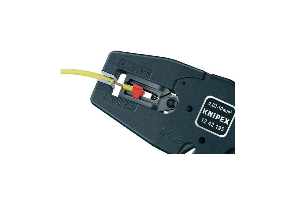 Alicate Desencapador de Fios Automático 1242195 - Knipex