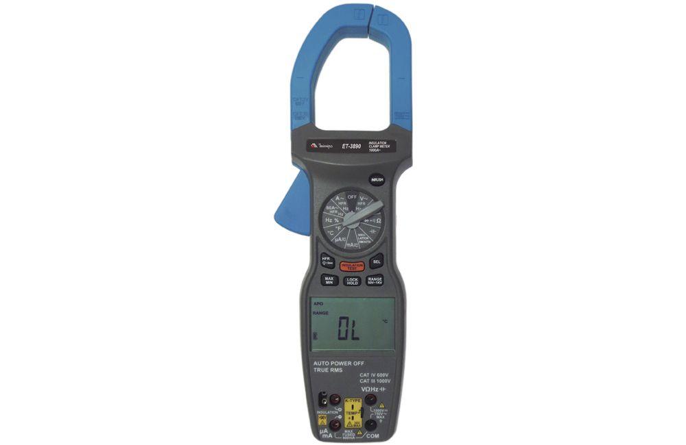 Alicate Megômetro Digital 1000A TRMS ET-3890 - MINIPA
