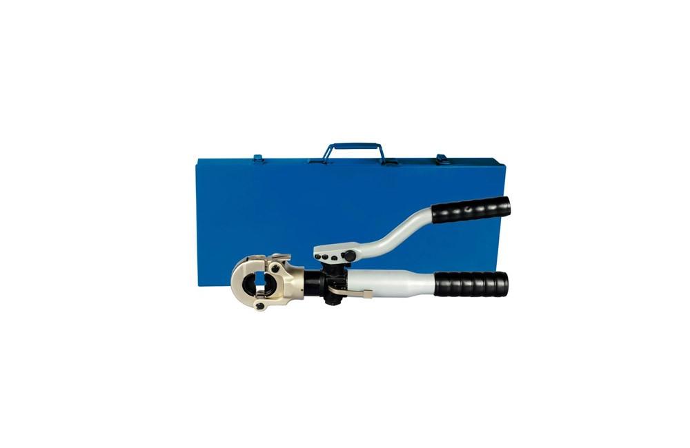 Alicate Prensa Terminais Hidráulico de 10 a 300 mm com Matrizes APTH300 - Bovenau