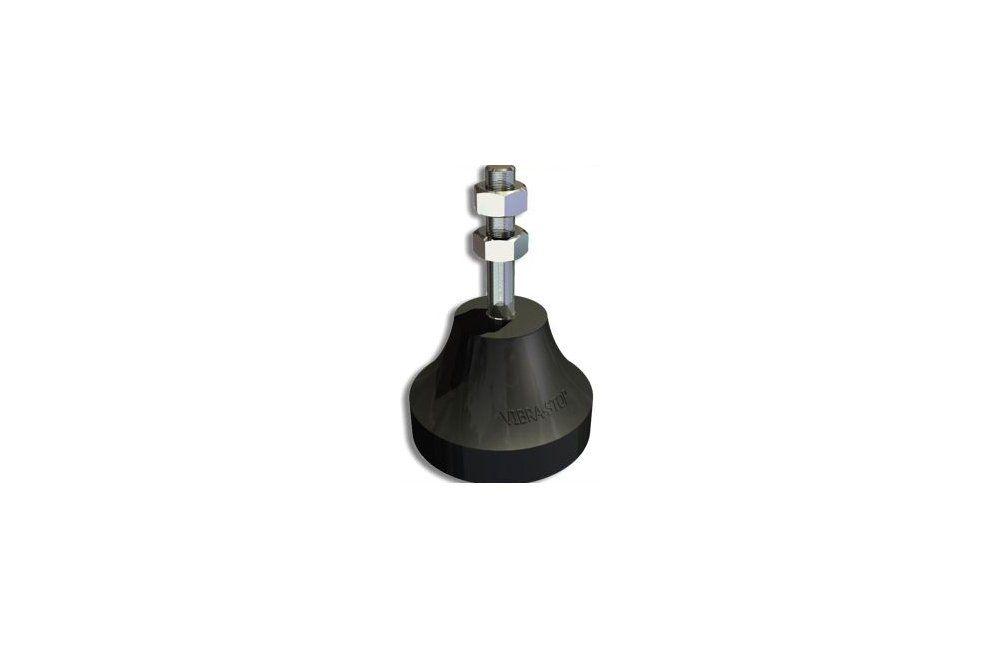 Amortecedor De Impacto e Vibração 3/8 4 peças MICRO-II 70KG - Vibra-Stop