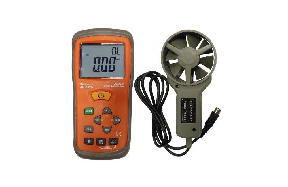 Anemômetro Digital 8 Digítos AN-3070 - Icel