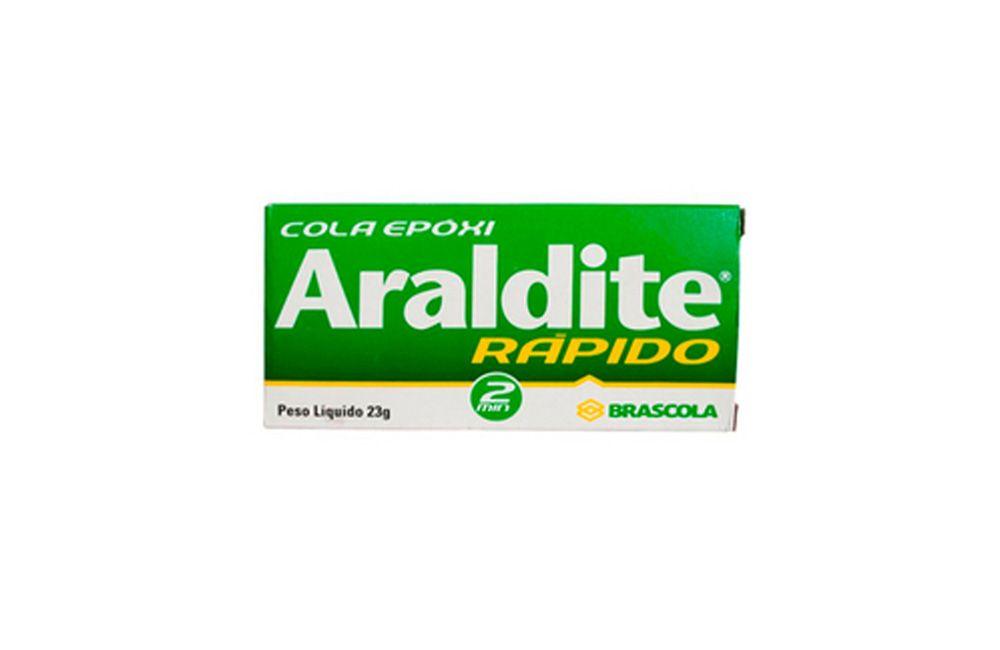 Araldite Ultra Rápido 2 minutos 23,4GR - Brascola