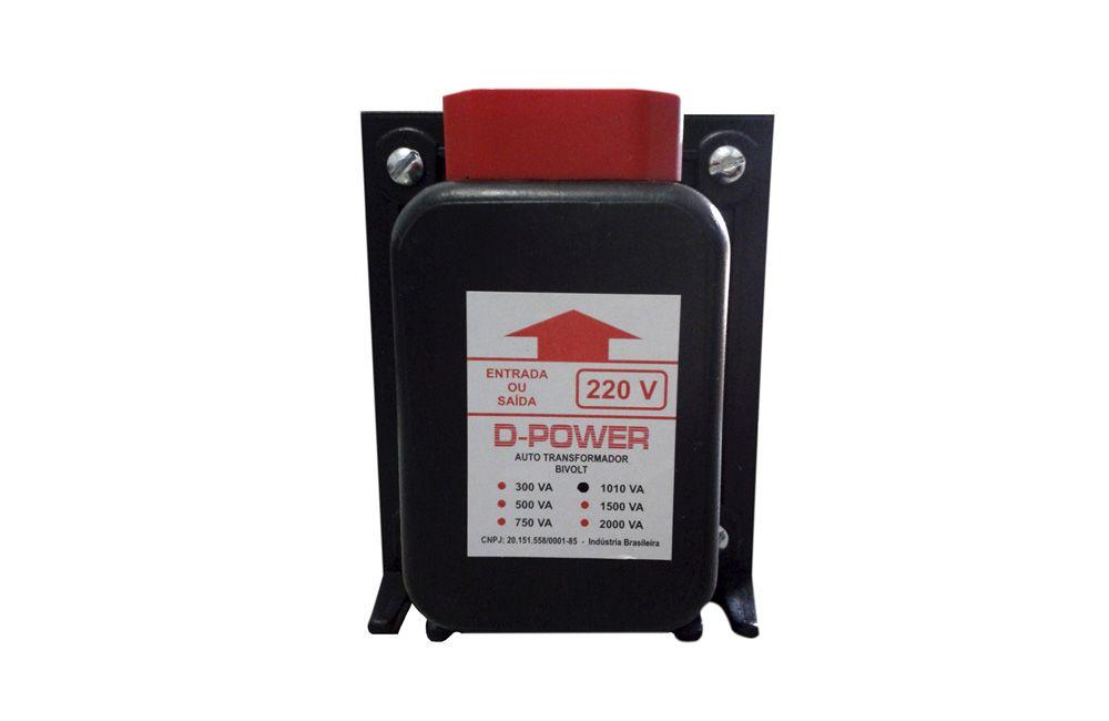 Auto Transformador Bivolt 110/220V 1010VA / 750W