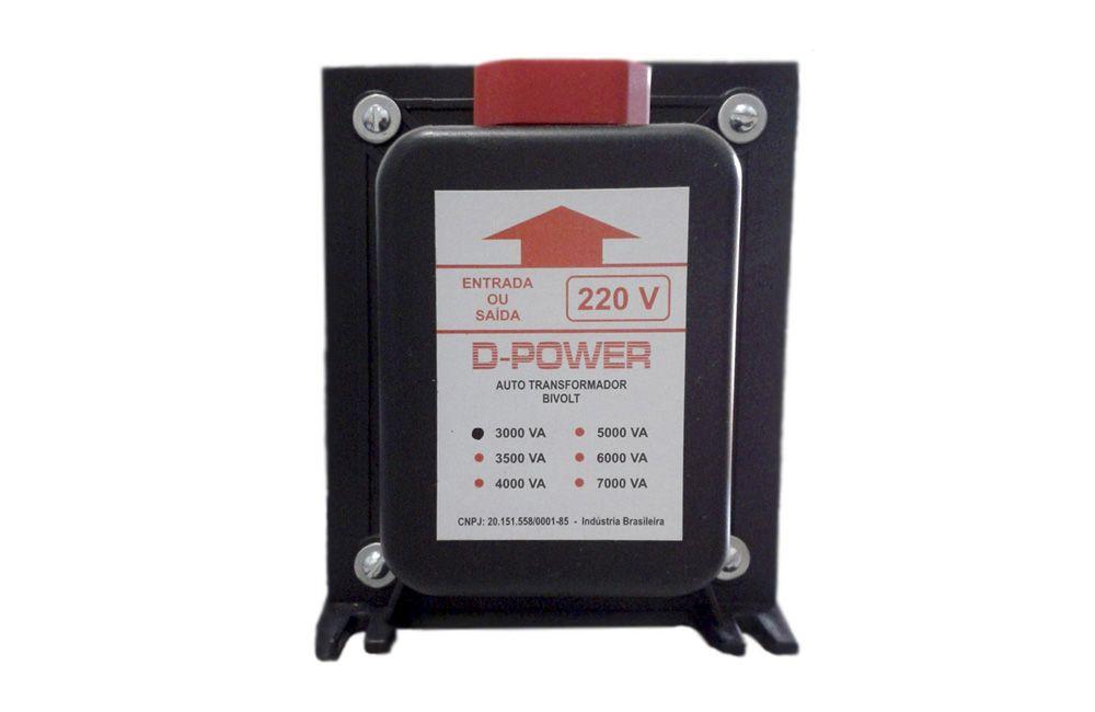 Auto Transformador Bivolt 110/220V 3000VA / 2000W