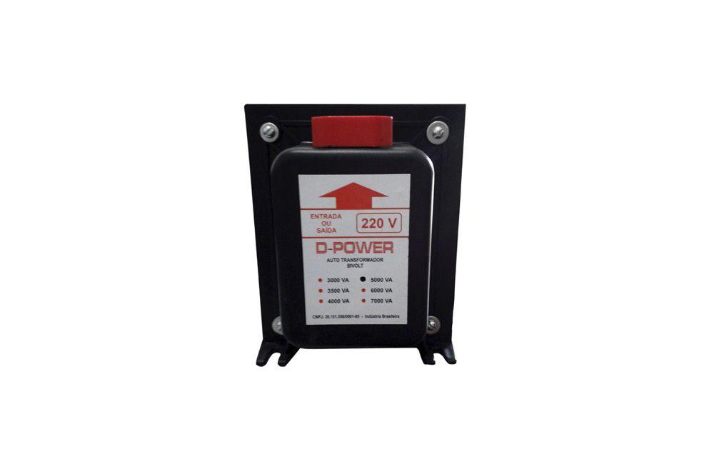 Auto Transformador Bivolt 110/220V 5000VA / 3000W