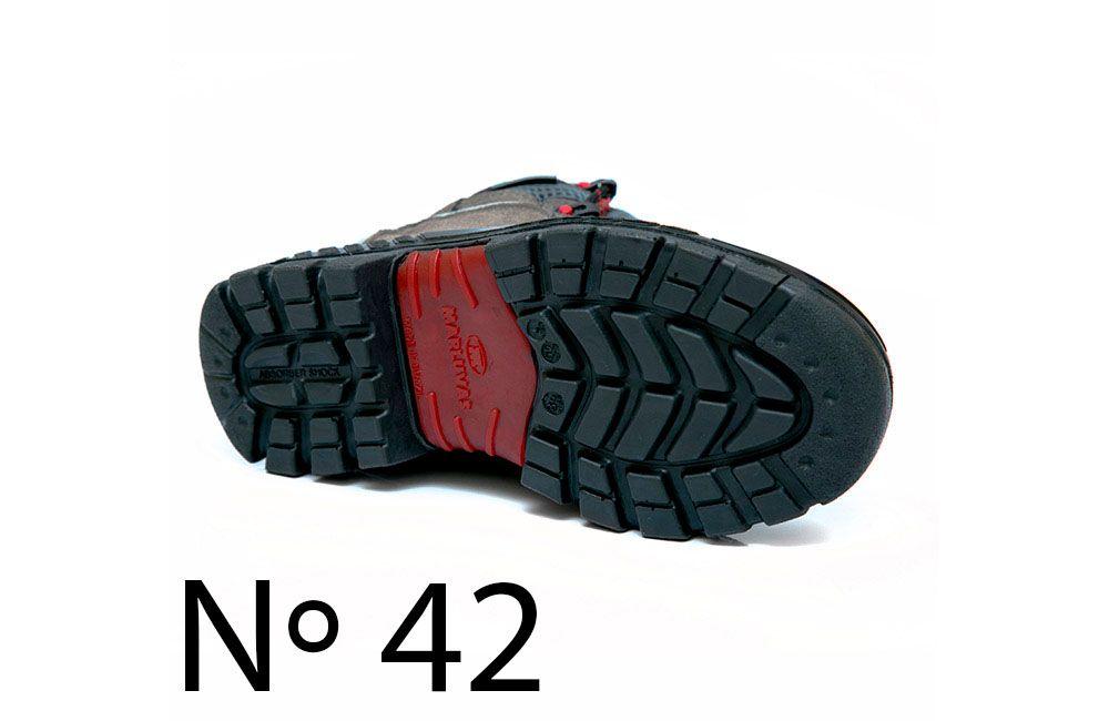 Bota de Segurança de Microfibra N42 Marluvas Premier 75BPR29 Cinza