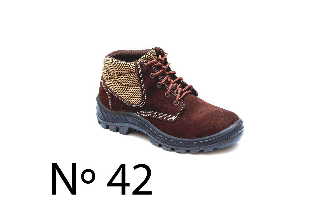 b037288c5d2c3 Botina Nobuck com Bico de Plástico N42 Marluvas 50B26-CB-BP - COFERMETA S.A  ...