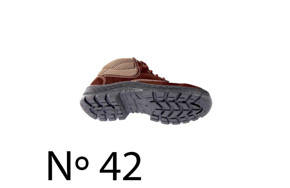 62da02be186b8 ... Botina Nobuck com Bico de Plástico N42 Marluvas 50B26-CB-BP - COFERMETA  S.A