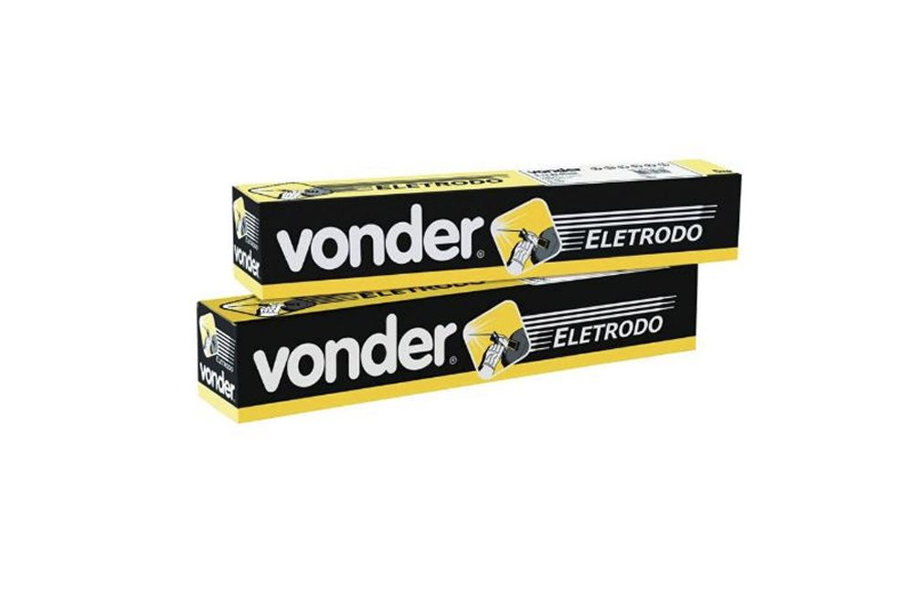 Caixa de Eletrodo 60.13 de 2,5 mm com 5 Kgs - VONDER