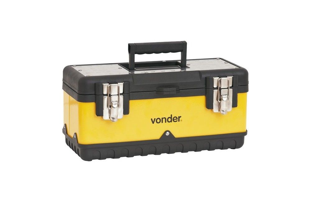 Caixa Metálica com Bandeja 380X160X180 CMV0380 - Vonder