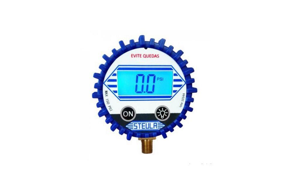 Calibrador de Pneu Digital 150PSI MS13DIG1 - Steula