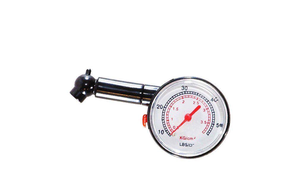 Calibrador de Pneus com Relógio em LBS/KGS/KPA 377 - Western