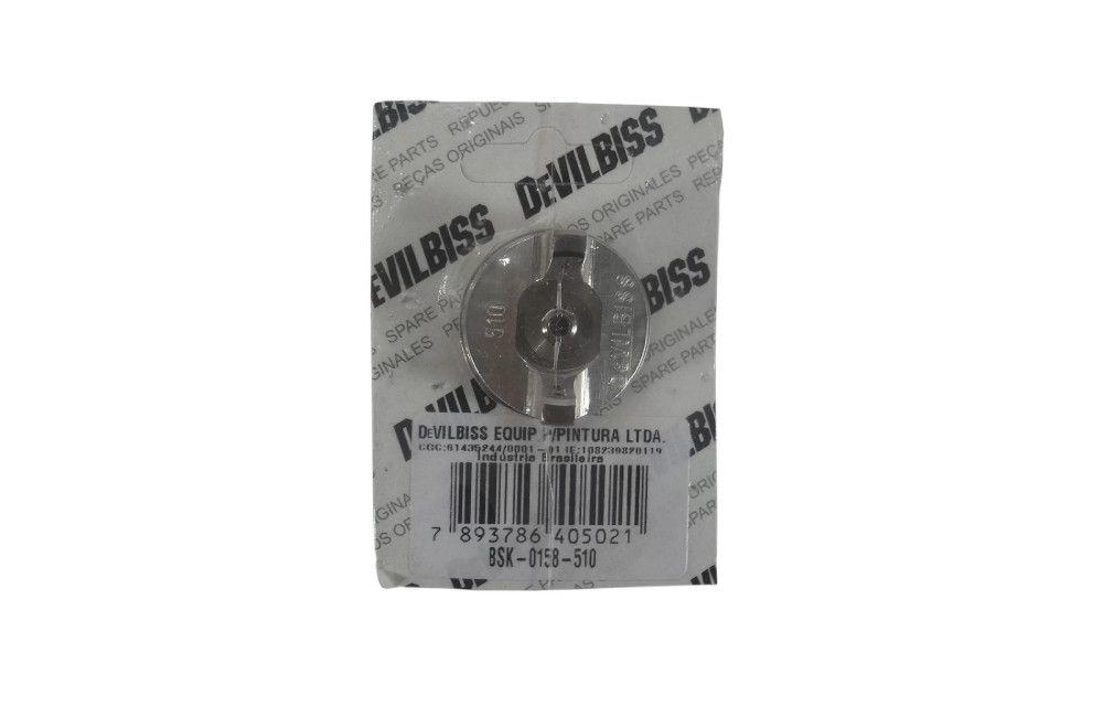 Capa de Ar para Pistolas SGK e FLG BSK-0158-510 - Devilbiss