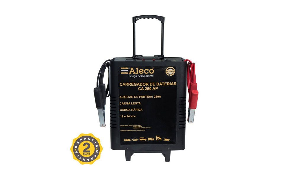 Carregador de Bateria 150 Amperes CA250AP Alleco