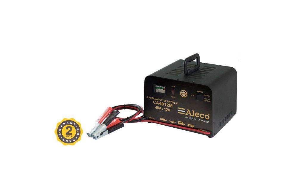Carregador de Bateria 40A  / 12V Manual Aleco CA-4012M
