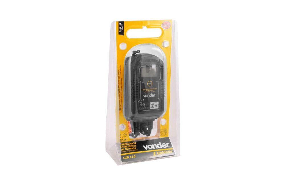 Carregador de Bateria Inteligente CIB110 110v - Vonder
