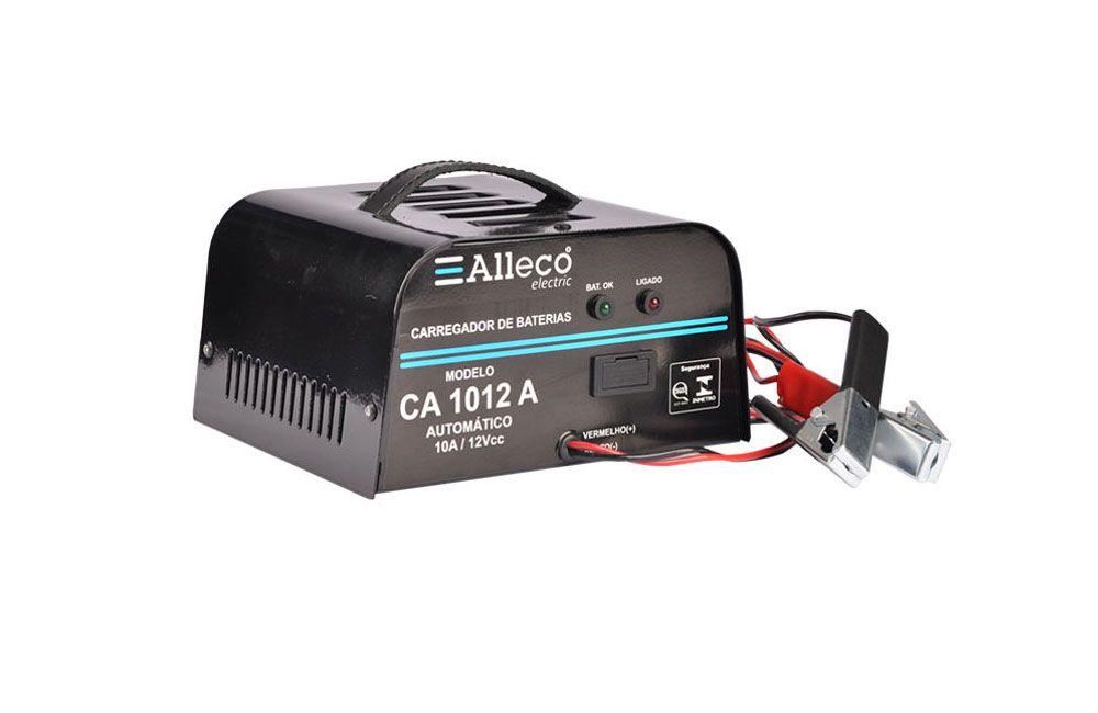 Carregador de Baterias 10A 12V CA1012A - Alleco