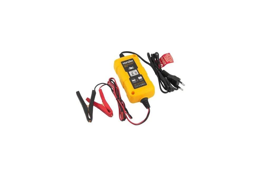 Carregador Inteligente de Bateria Bivolt 12V CIB003 - Vonder