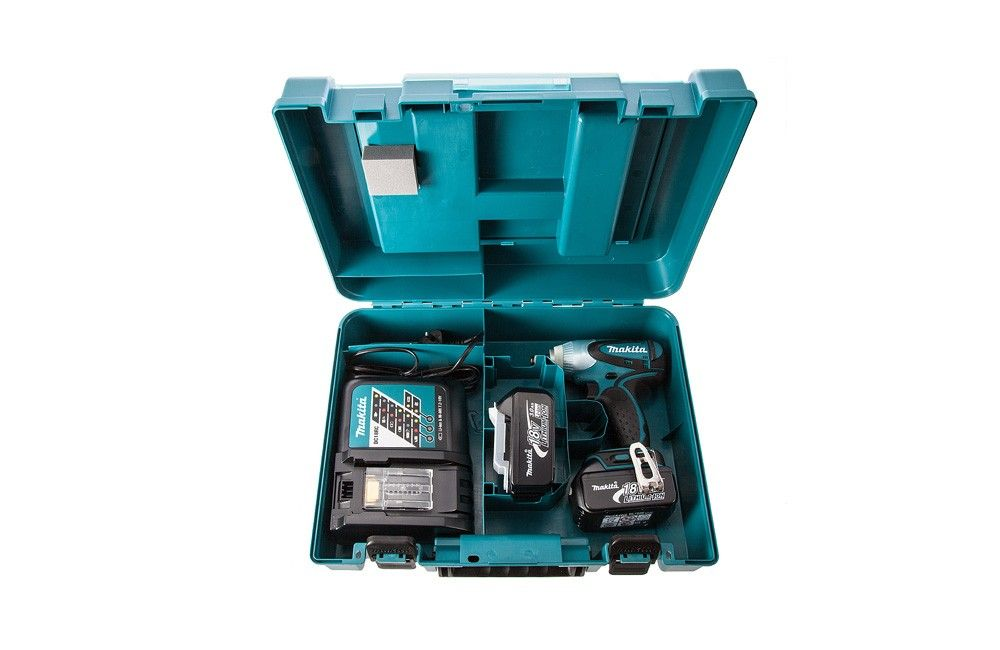 "Chave de Impacto de 1/2"" à Bateria 18V 110V DTW251RFE - Makita"