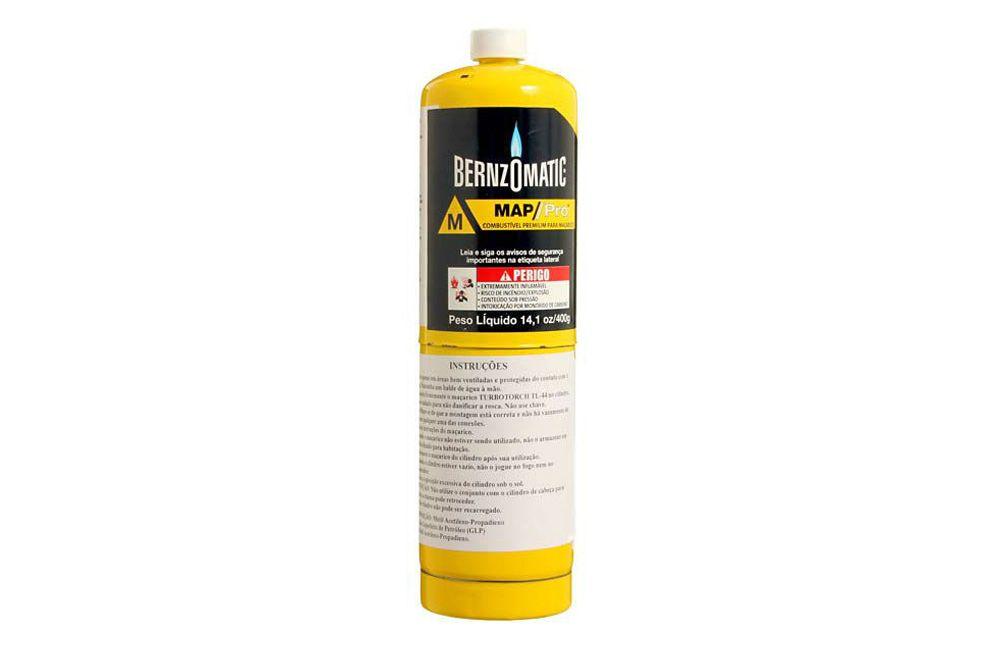 Cilindro de Gás Descartável 400 gramas Benzomatic