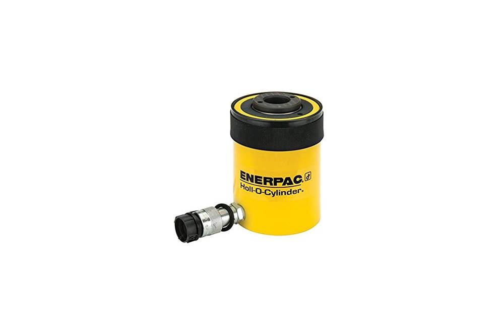 Cilindro Hidráulico de Simples Ação com Haste Vazada de 30 Ton com Curso de 64 mm RCH302 - Enerpac
