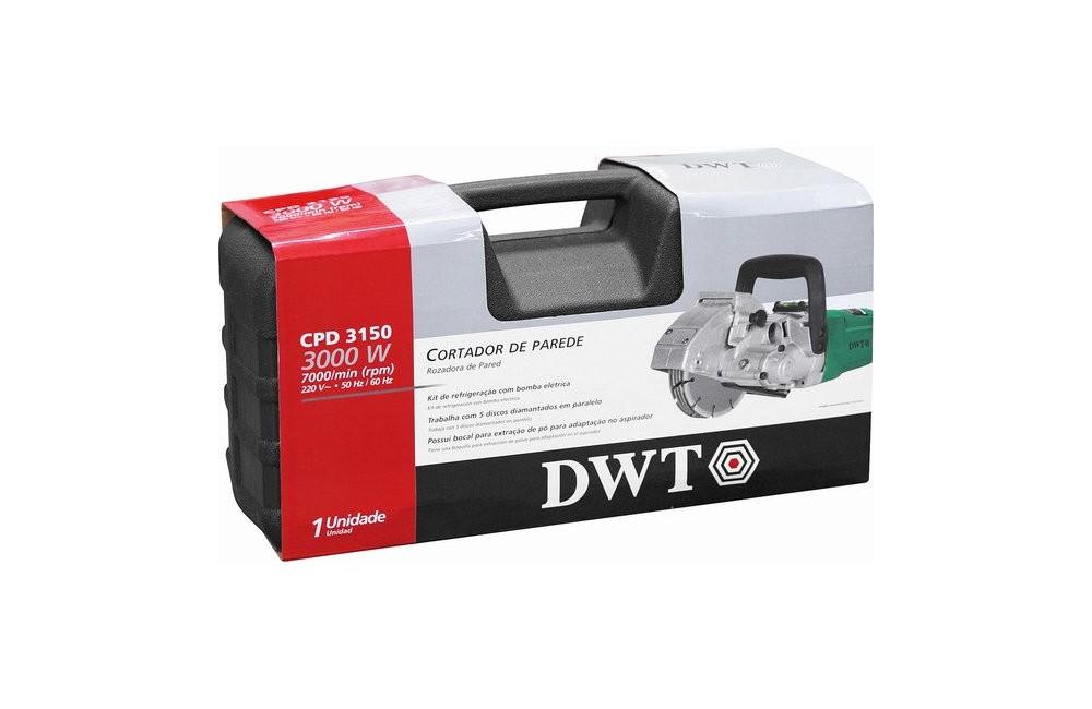 Cortador de Parede 121mm 3000W 220V CPD3150 - DWT