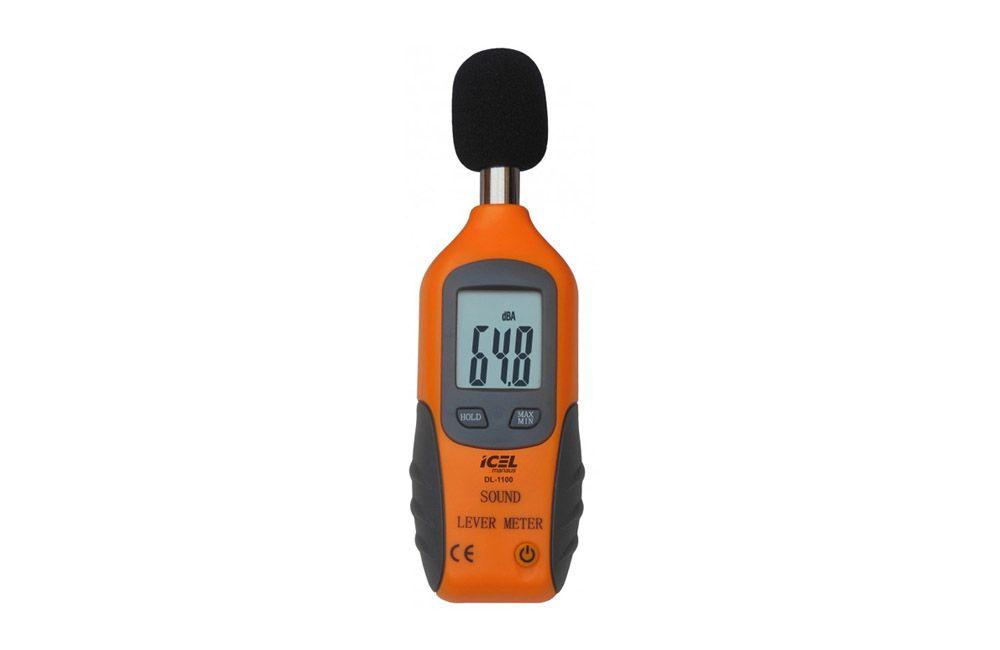 Decibelímetro Digital de 40-130DB DL-1100 - ICEL