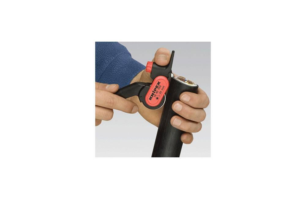 Desencapador de Cabos Industrial 1640150 - Knipex