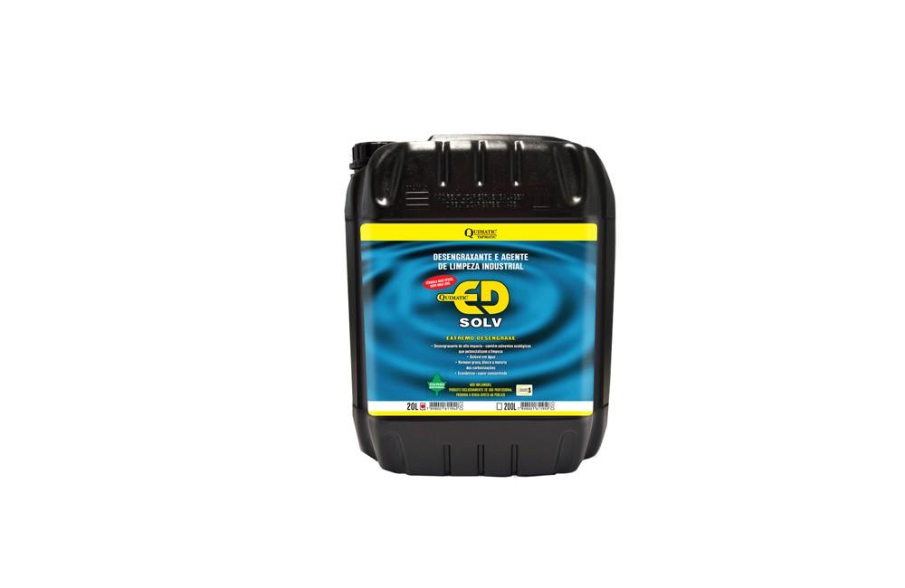 Desengraxante Industrial de 20 Litros ED Solv - Tapmatic