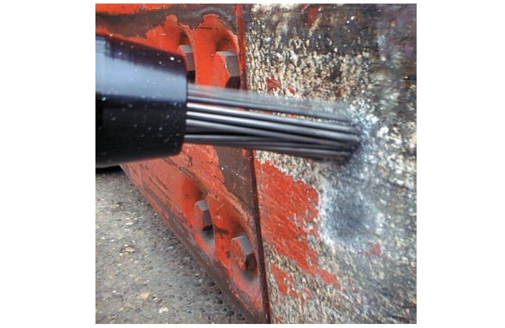 Desincrustador Pneumático Reto 19 Agulhas 125A - INGERSOLL