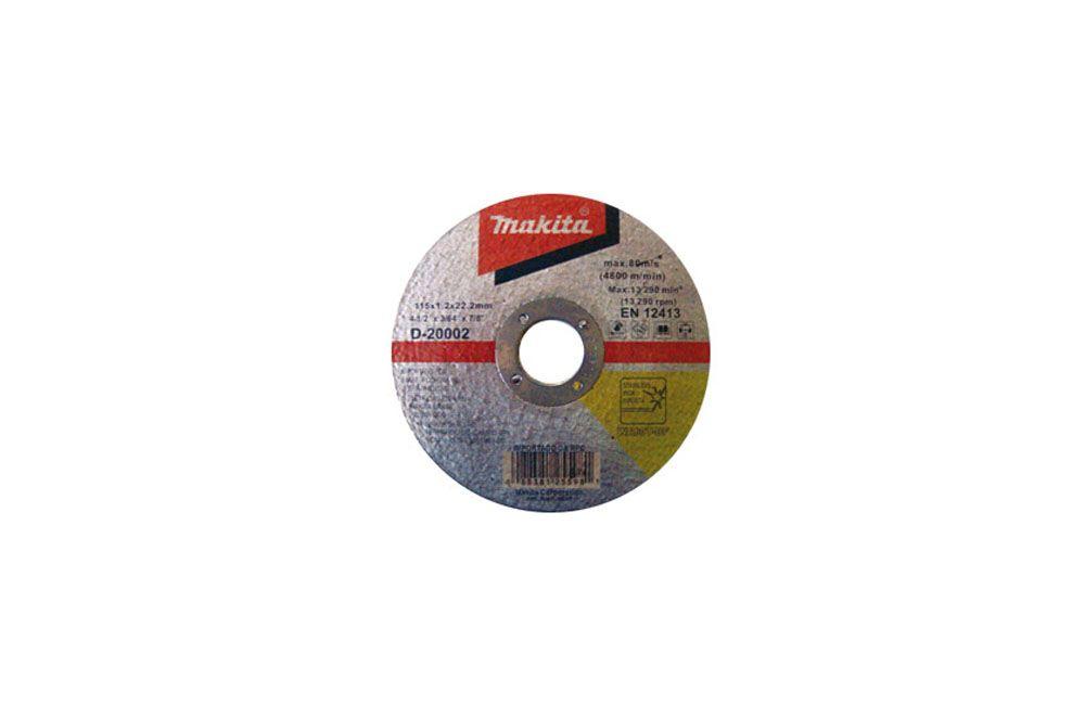 Disco de Corte Aplicação em Inox D20002 - Makita