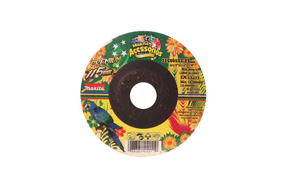 Disco de Desbaste para Ferro 4.1/2X1/4X7/8 D50952 - Makita