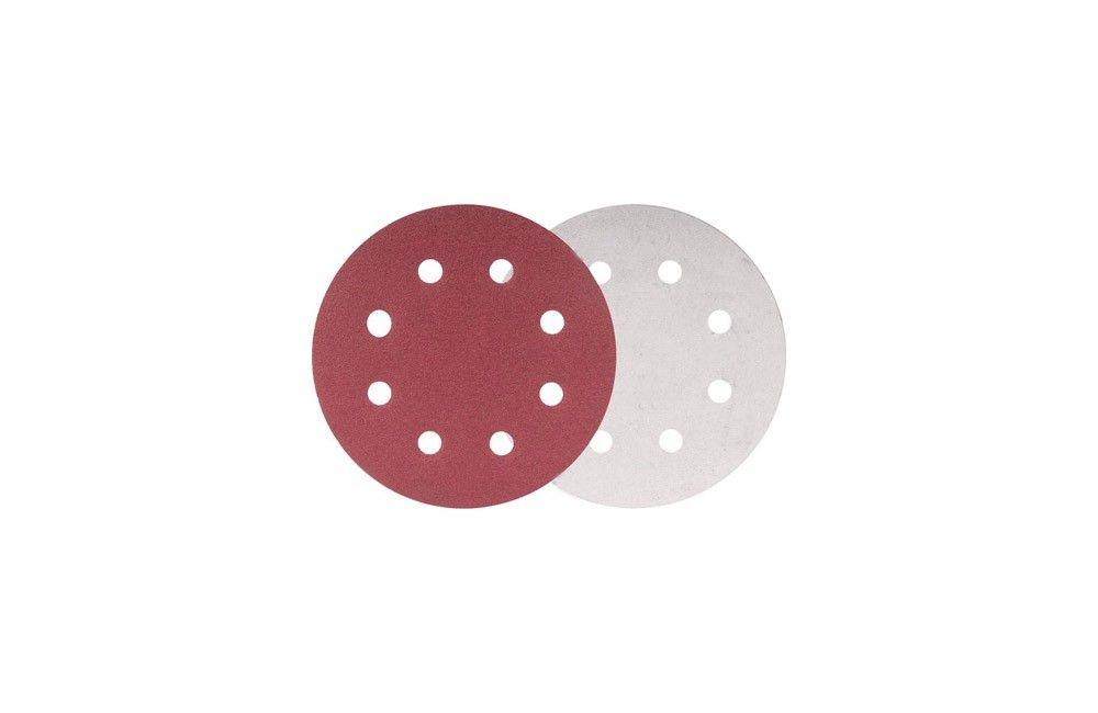 Disco de Lixa Circular de 180 mm Grão 80 para Lixadeira LPV-750 - Vonder