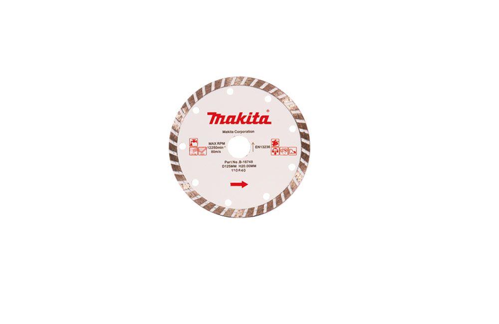 Disco Diamantado Turbo 5/125mm B-16748 Makita