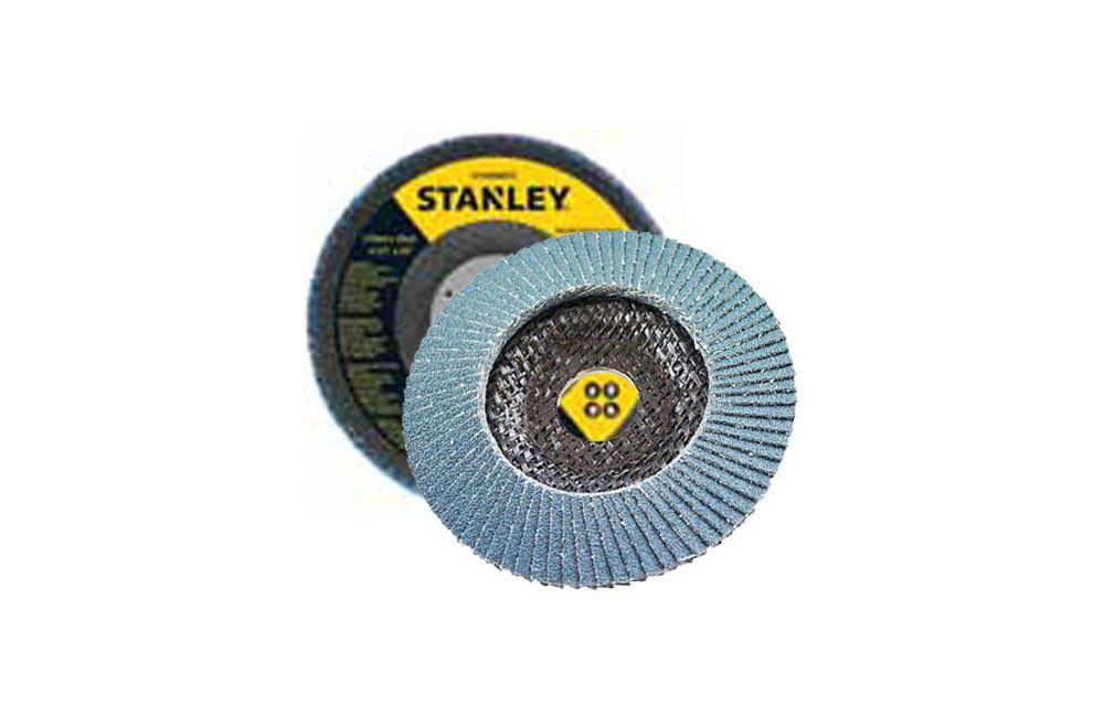 "Disco Flap Cônico 7"" G-80 - Stanley"