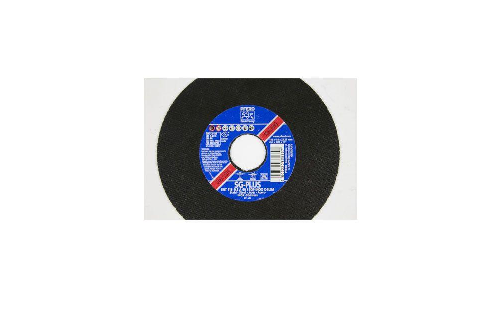 "Disco para Corte de Inox 4.1/2"" x 1/32"" / 115 x 0,8 x 22,23 mm RSG-Inox - Pferd"
