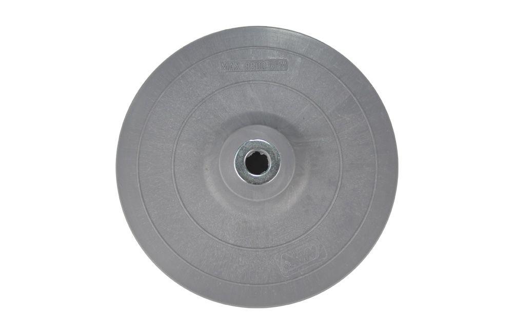 """Disco Plástico 7"""" Cinza Rígido para Lixadeiras Max"""