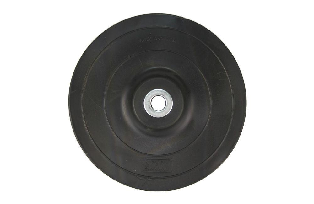 """Disco Plástico 7"""" Preto Flexível para Lixadeiras Max"""
