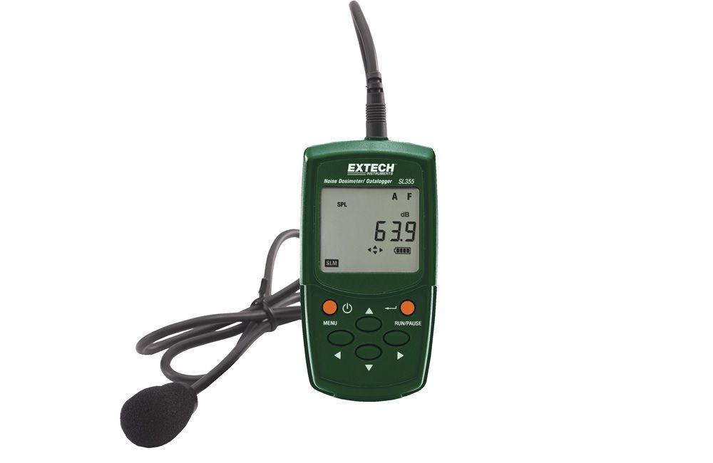 Dosímetro e Registrador de Ruídos SL-355 Extech