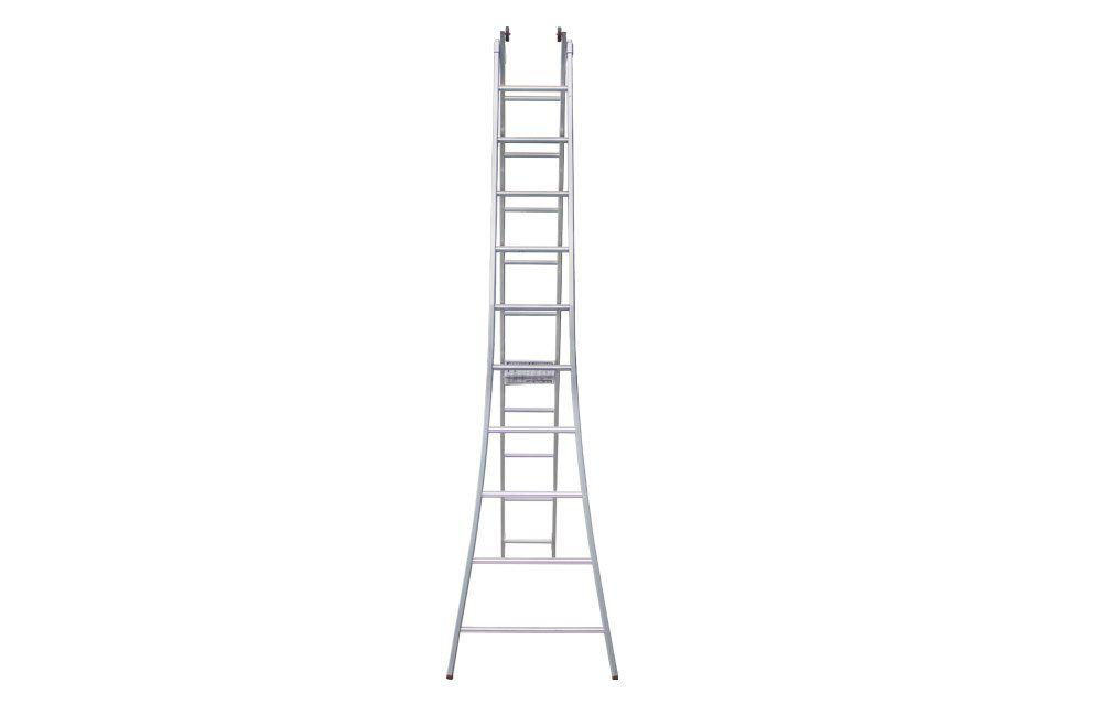 Escada de Alumínio Dupla Extensível 2 x 10 Degraus ED-110 - Alulev