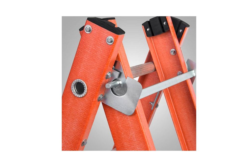 Escada de Alumínio/Fibra Extensiva e Tesoura com Degrau Vazado ETAF-7x11 - Sintese