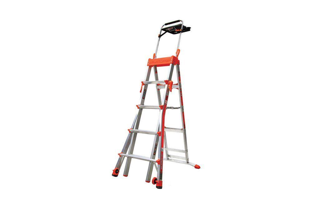 Escada Multifuncional 2.43AL 8 Degraus - Sintese