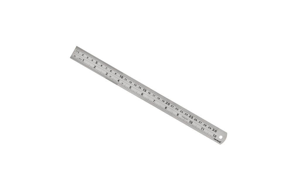 "Escala de Aço Inox de 60"" / 1500 mm 600.008 - King Tools"