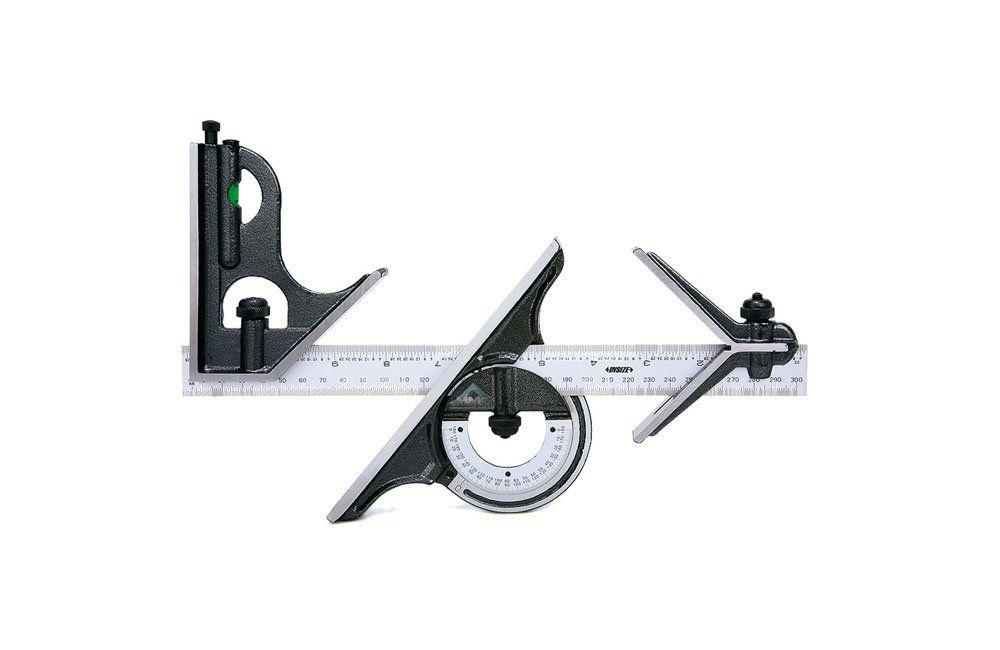 Esquadro Combinado de 300 mm 0-180 Graus 2278-180 - Insize