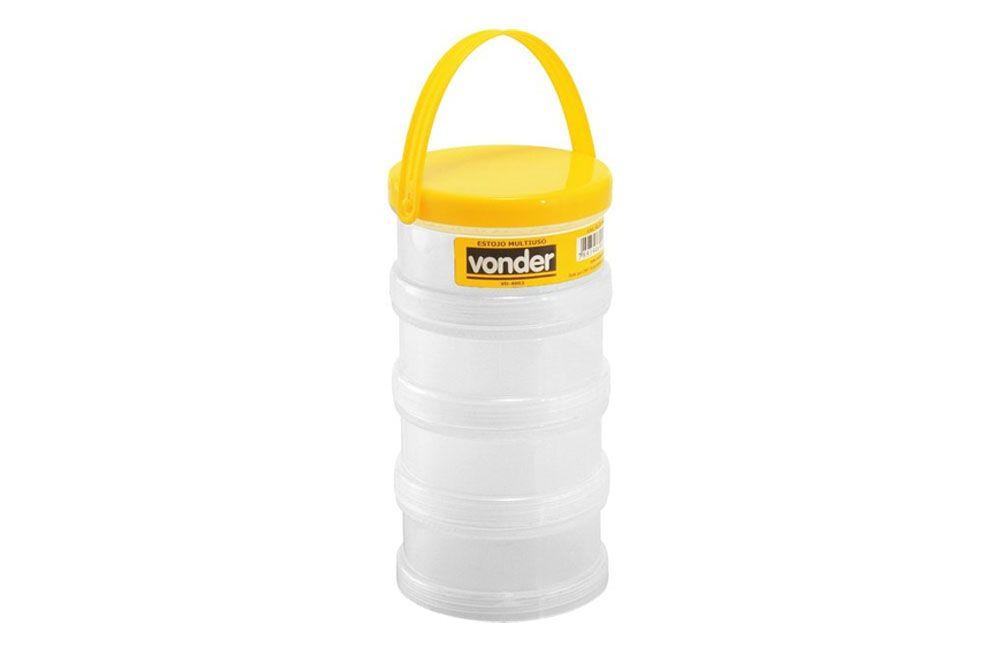 Estojo multiuso VD 4003 Composto de 4 partes rosqueáveis - Vonder
