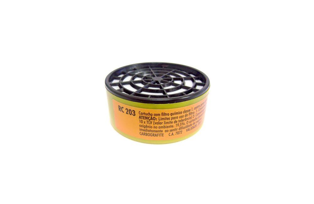 Filtro para Máscara Respiratória RC 203